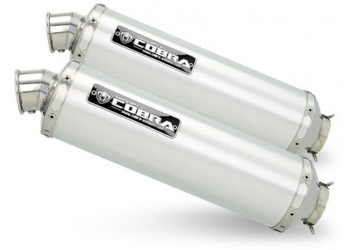 Laděný výfuk COBRA C5 pro Kawasaki Z 1000 2007-2009